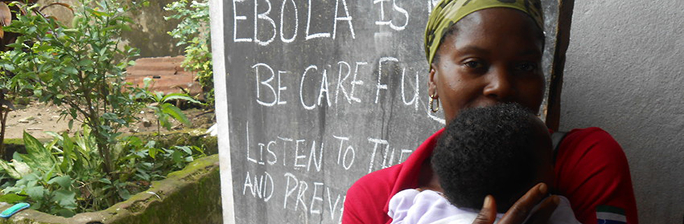 Save the Children builds its first Ebola treatment centre in Liberia