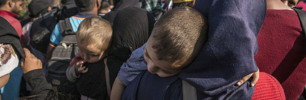 Help is on the way for child refugees