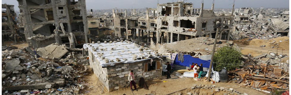 World not delivering on Gaza reconstruction promises, new report warns