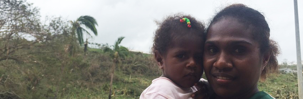 Save the Children launches emergency appeal for children affected by Cyclone Pam