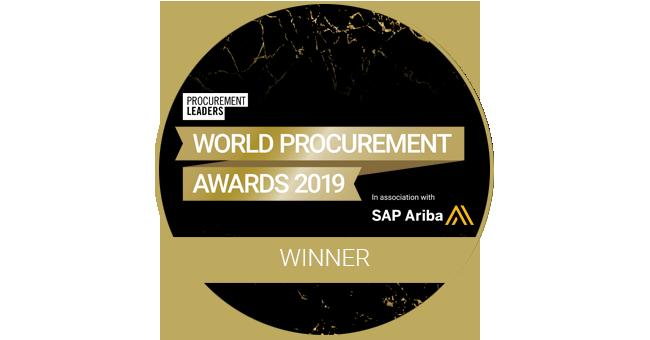 World Procurement Awards 2019 Winner logo